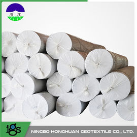 Non Woven Geotextile Filter Fabric For Lake Dike , High Permeability