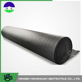 PP Woven Geotextile Fabric Monofilament , 400G 8m Width 100KNM