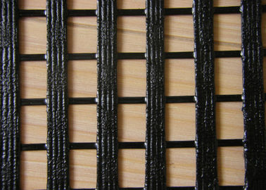 Warp Knitting Geogrid for Lower Elongation , High Tensile Geogrid